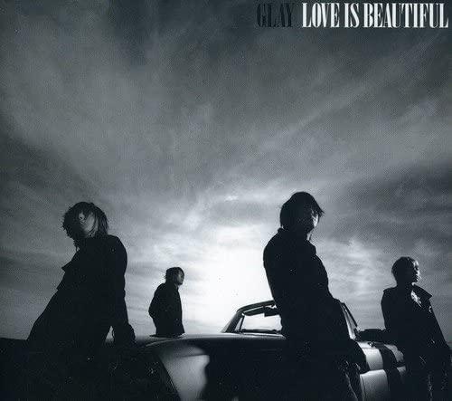 『LOVE IS BEAUTIFUL』のCDジャケット